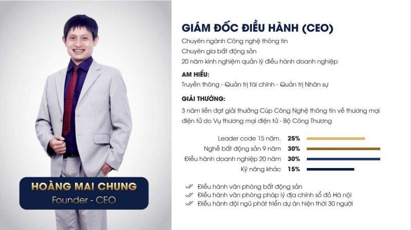 CEO - Hoàng Mai Chung Meeyland