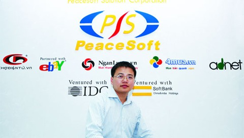 19 tuổi ông là giám đốc công ty PeaceSoft