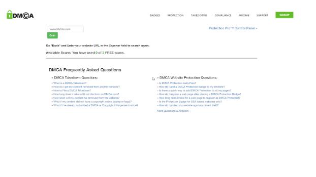 DMCA Scan – công cụ Check Unique quen thuộc của dân viết nội dung SEO