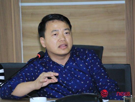 Ngay từ nhỏ Nguyễn Hoà Bình đã đam mê với công nghệ