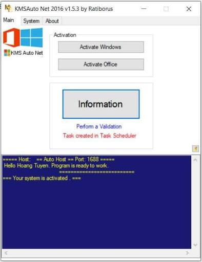 KMSAuto Net Crack Office 2013 rất hiệu quả