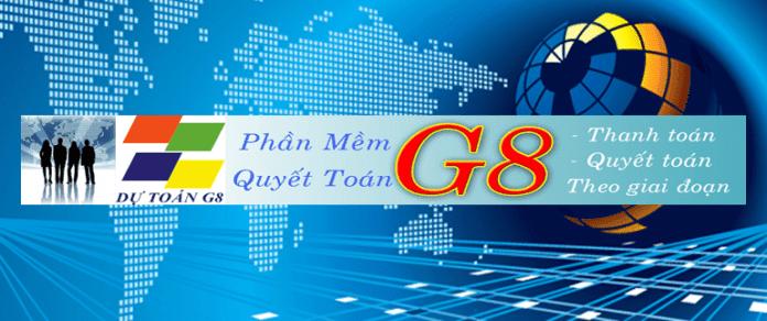 Phần mềm dự toán G8
