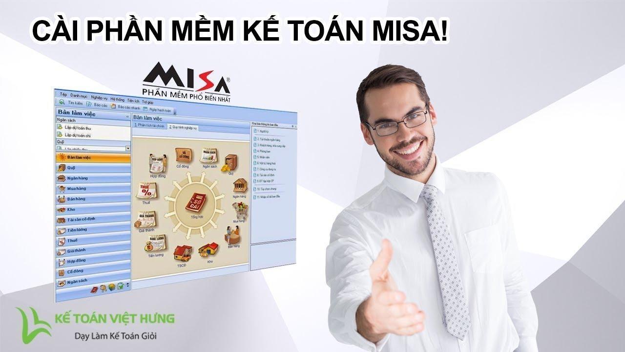 Cài đặt phầm mềm kế toán Misa miễn phí Crack đơn giản và nhanh chóng