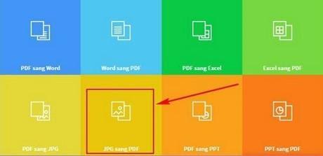 Chọn JPG sang PDF
