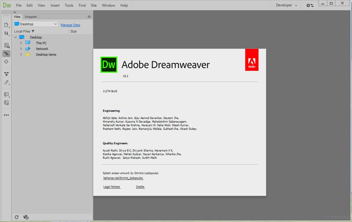 Dreamweaver là một trong những phần mềm Adobe Illustrator CC 2019 phổ biến