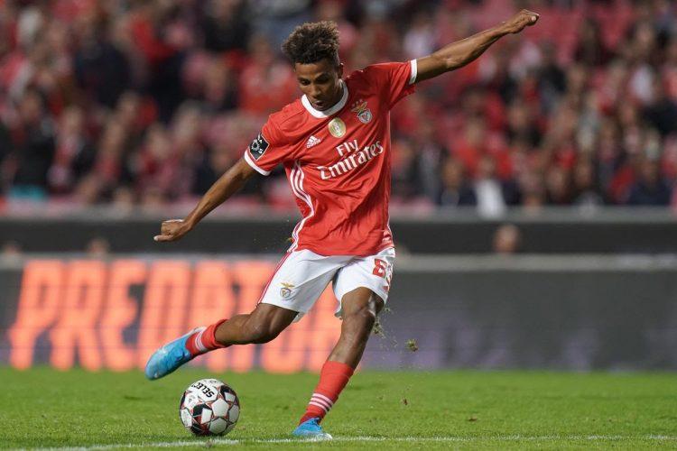 Gedson Fernandes đã giúp Benfica có được danh hiệu vinh quang ở mùa trước