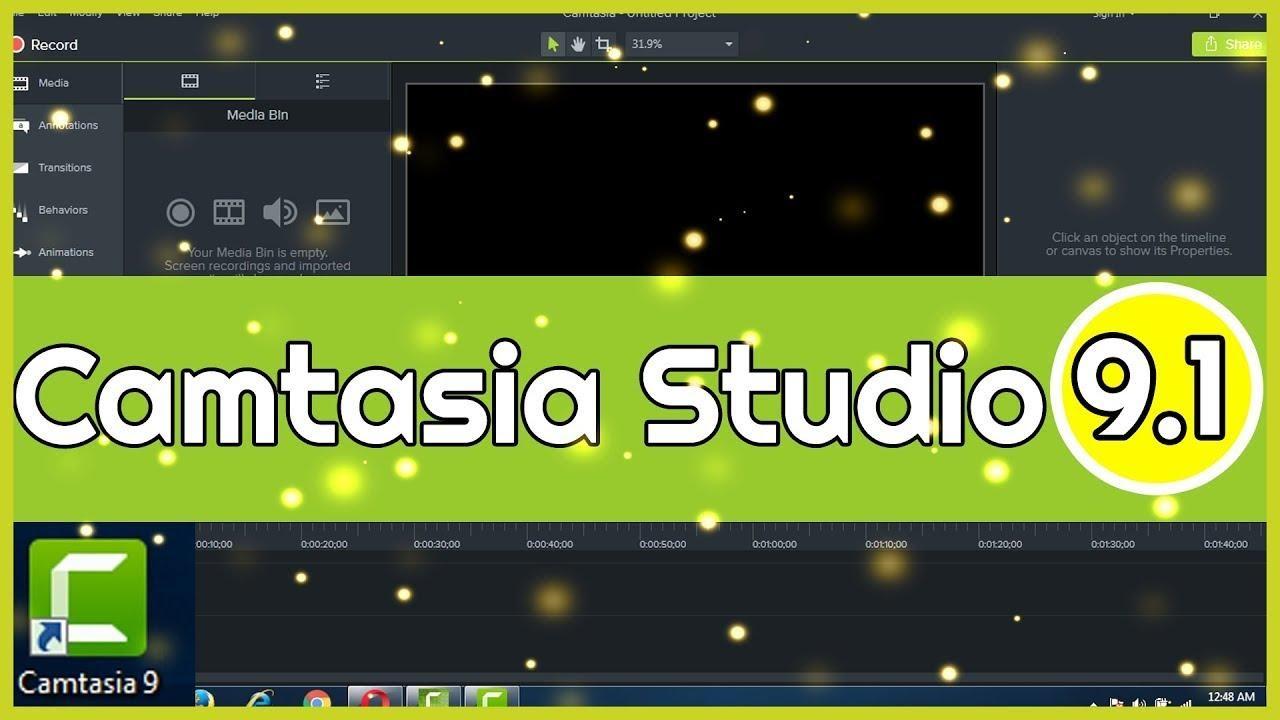 Camtasia Studio 9 là phần mềm với chức năng quay Clip màn hình tốt nhất hiện nay