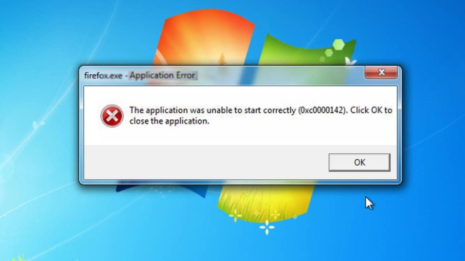 The Application Was Unable To Start Correctly 0xc00007b Win 10 là lỗi phổ biến