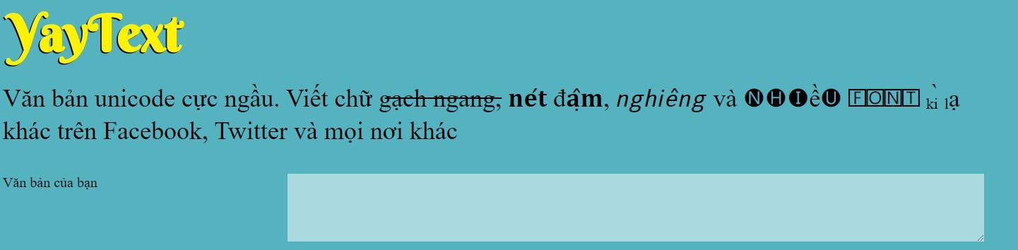 viet chu in dam tren facebook