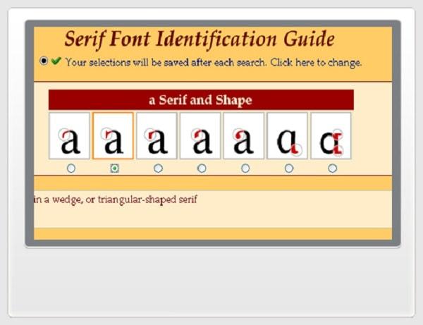 Serif Font Identification Guide