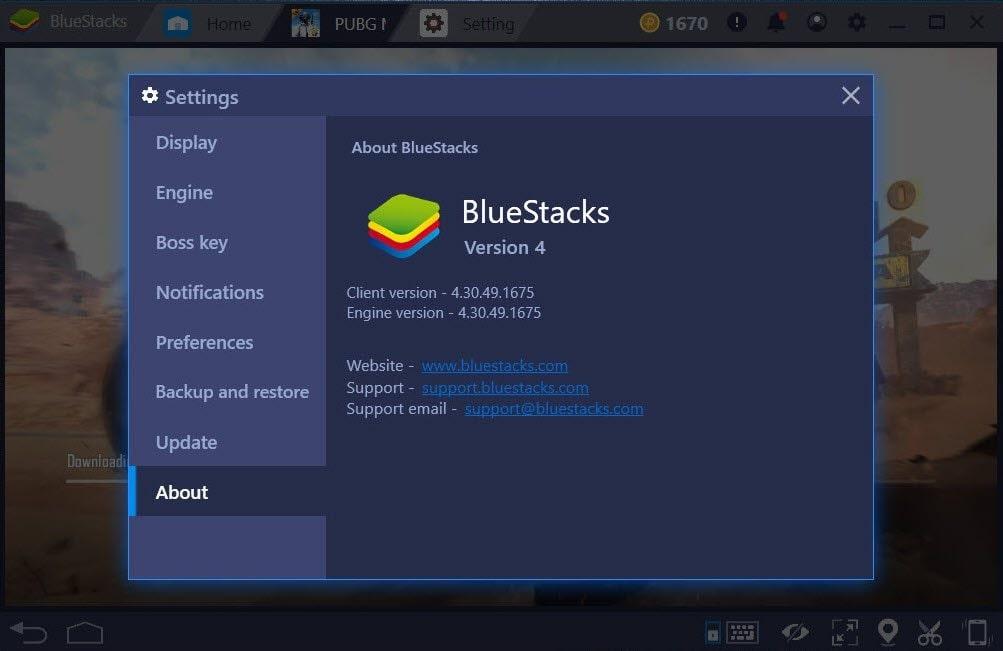 Cài đặt ngay ứng dụng BlueStacks để chơi hải tặc bắn cá