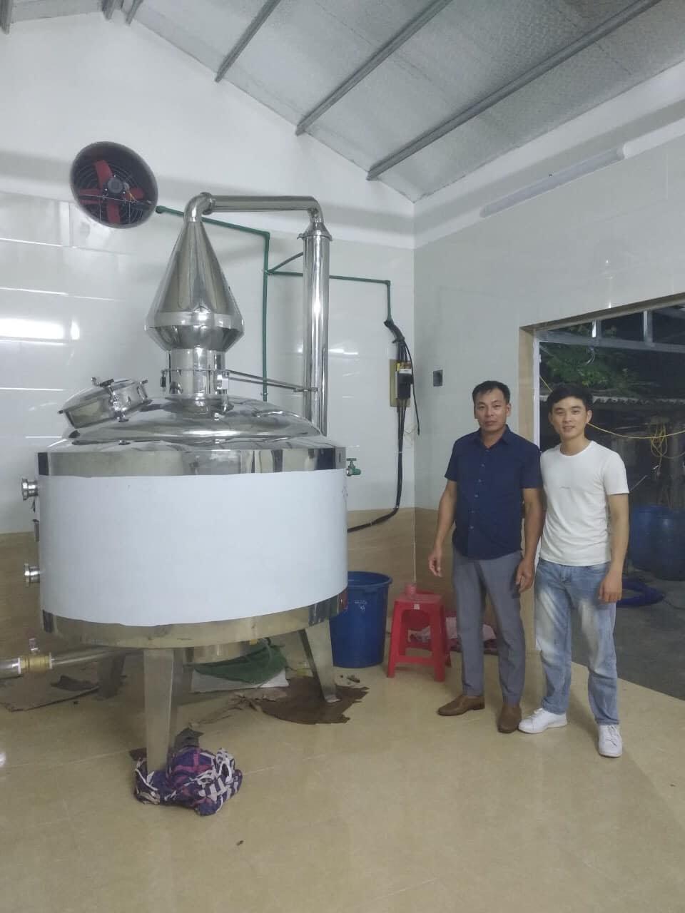 quy trình nấu rượu công nghiệp 1
