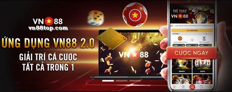 ứng dụng di động vn88