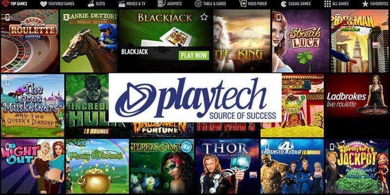nhà cung cấp game casino playtech