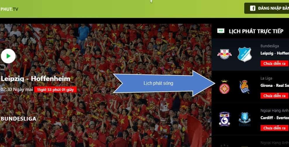 90phut.tv luôn nằm trong TOP các kênh phát bóng đá trực tiếp bóng đá được yêu thích nhất